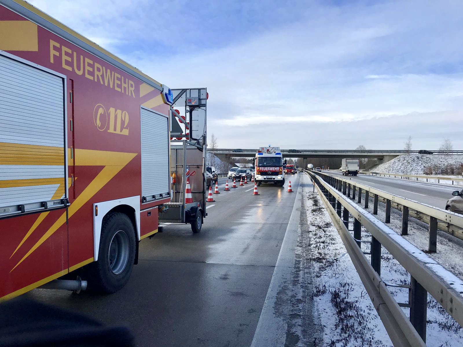 RTH, Verkehrsunfall mit PKW, A94, Passau